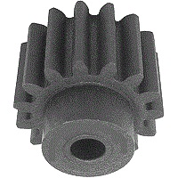 13 tooth 1.0 Mod Moulded Nylon Spur Gear (PS10/13B)