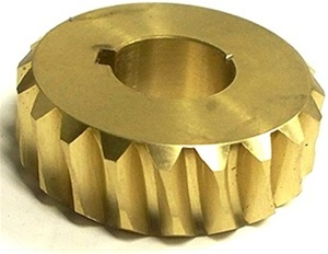 20 tooth 0.8 Mod Bronze Worm Wheel Gear NBWW08/20/1R