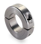 Zinc Plated Steel Double Split Collar 20mm bore x 40mm O.D.